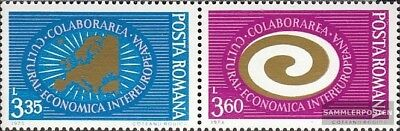 Romania 3120-3121 Couple (complete issue) unmounted mint / never hinged 1973 INT