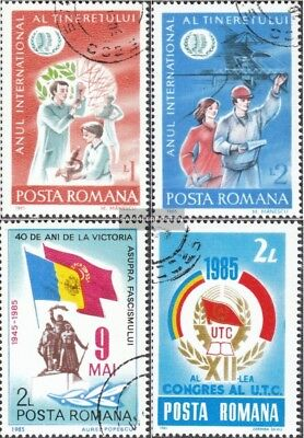 Romania 4130-4131,4141,4142 (complete issue) used 1985 special
