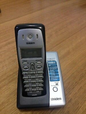 Uniden DECT 1825 1.8 GHz Cordless Phone one handset and charge base