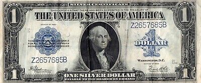 USA $1 Silver Certificate Blue Seal Series of 1923