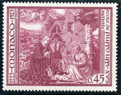 Stamp / Timbre De Monaco N° 935 ** Art / Tableau / Nativite