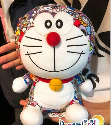 "NEW 9"" Doraemon UNIQLO DORAEMON X Takashi Murakami Limited Plush Doll Toys"