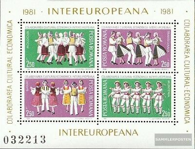 Romania block178 (complete issue) unmounted mint / never hinged 1981 Communist P