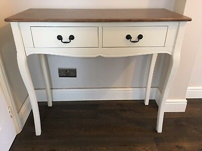 Home, Furniture & DIY Tables Chic Dressing Table Drawer Wood ...