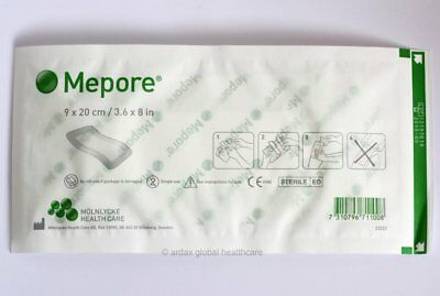 5 x Mepore Adhesive Sterile Surgical Dressings 9 X 20cm