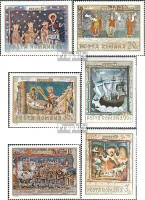 Romania 2814-2819 (complete issue) unmounted mint / never hinged 1969 Frescoes t