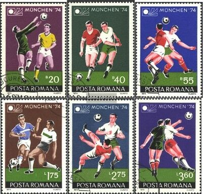 Romania 3203-3208 (complete issue) unmounted mint / never hinged 1974 World Cup