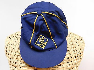 Cub Scout Boy Scout Hat/cap Solid Navy Blue Size Medium 6 7/8 ~ 7 1/8
