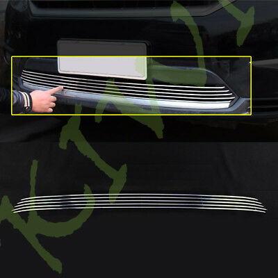1X Car Front Bumper LOWER Grille Cover Metal Trim For Toyota Highlander 2011-13