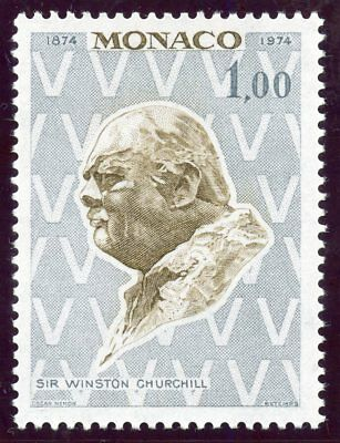 Stamp / Timbre De Monaco  N° 965 ** Churchill