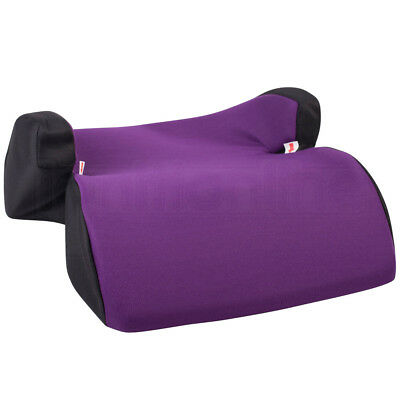 Purple Polystyrene Car Booster Seat Chair Childs 3-12yrs Group 2/3 Side Support