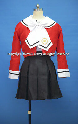 Magic Knight Rayearth Hikaru Shidou School Cosplay Costume Size M
