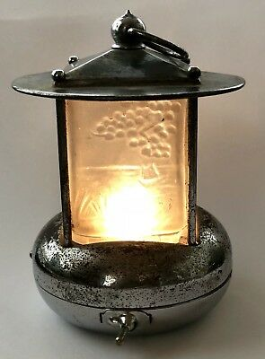 1930's Art Deco PIFCO Night Light - the rarer Japanese Pagoda type