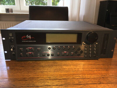 Sampler E-MU e64 HD/CDROM/Syquest mit Rack und Sounds