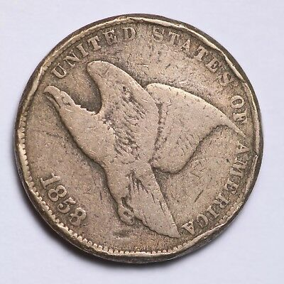 1858 Small Letters Flying Eagle Cent Penny FREE SHIPPING!