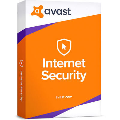 AVAST Internet Security Antivirus 2018 For 10 Pc (Licence for 10 year)