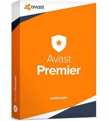 AVAST Premier Antivirus 2018 for 10 PC (Licence for 1 year)