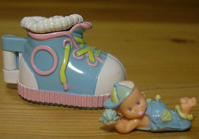 Polly Pocket Mini ♥ Mimi & the Goo Goos ♥ Kleiner Turnschuh ♥ + süßes Baby  ♥