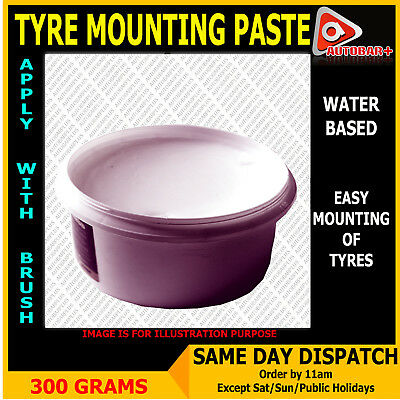 Tyre Fitting Mounting Cream Paste 300 Grams