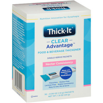Thick-It Clear Advantage Instant Nectar Food & Beverage Thickener 30 packets/Bx
