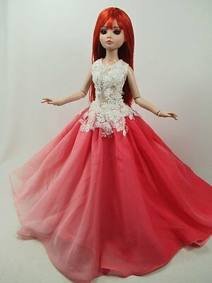 """Handcrafted Outfit two tone Dress 16""""doll Tonner Tyler Essential Ellowyne#200-62"""
