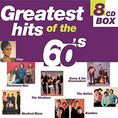 Various Artists - Greatest Hits Of The 60s - Various Artists CD FZVG The Cheap