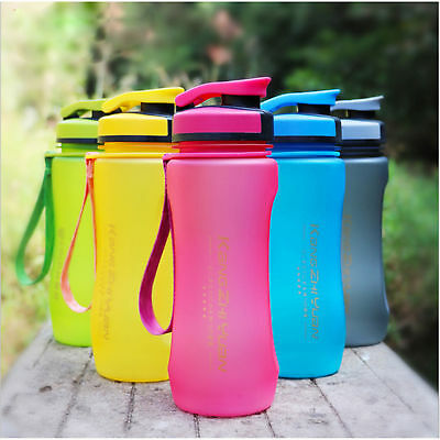 600ml Outdoor Sport Bottle Portable Travel Water Drinking Cup Leak-Proof Bottle