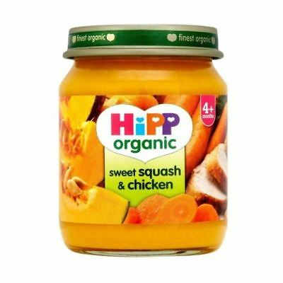 Hipp Sweet Squash & Chicken (4+) [125g x 6] (4 Pack)