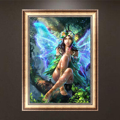 Angel girl DIY 5D Diamond Painting Embroidery Cross Stitch Rhinestone Hand Gift