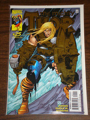 Thor #25 Vol2 The Mighty Marvel Comics Ds Gold Foil July 2000