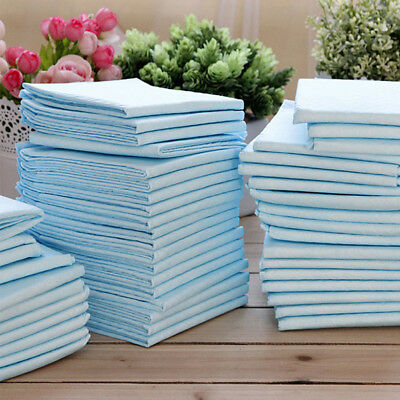 100pcs/set DOG PUPPY PET HOUSEBREAKING WEE WEE PEE TRAINING POTTY PADS UNDERPADS
