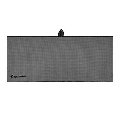 "TaylorMade Golf 2017 Microfiber Players Towel 17"" x 40"" - Grey"
