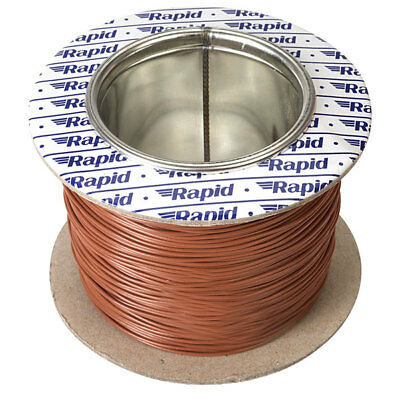 Rapid GW011510 10/0.1mm Equipment Wire Brown 100m