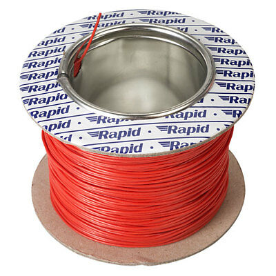 Rapid GW011535 10/0.1mm Equipment Wire Red 100m