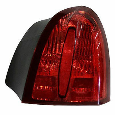 for 1998 2002 Lincoln Town Car Right Passenger Tail lamp Lens/Housing W/O Emblem