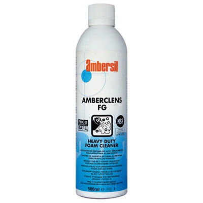 Ambersil 30241-AA Amberclens FG NSF A1 Heavy Duty Foam Cleaner 500ml