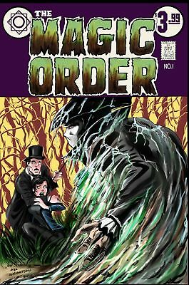 The Magic Order #1 1St App Swamp Thing #1 Homage 500 Print Run New Netflix Show