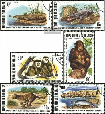 Togo 1235A-1240A (complete.issue) used 1977 Conservation