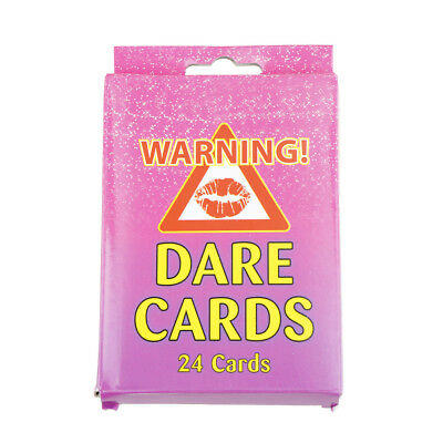 pack of 24 girls hen night out party dare card accessories wedding favours fun X