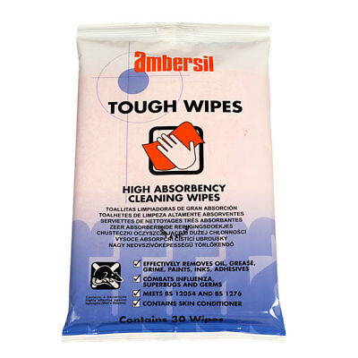 Ambersil 30766-AA Toughwipes - Pack of 30