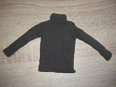 WH grauer Pullover Sweater in 1/6 DID DRAGON