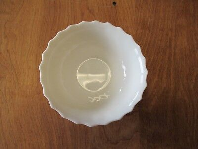 """Arcopal France TRIANON IVORY Soup Cereal Bowl Scalloped 6 3/8"""" 1 ea 14 available"""