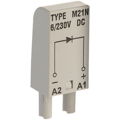 Relpol M21N Plug In Diode Protection Module 6-230V for GZT & GZM Sockets