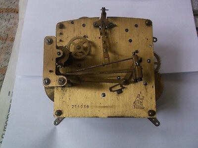 Perivale 4 Hammer 4X4 Mechanism  From An Old   Mantle Clock