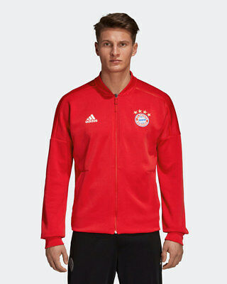 Bayern Monaco Adidas Jacket Pre Competition Pre Match 2018 19 Anthem zone Red