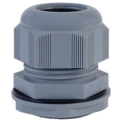 Alpha Wire PPC9 SL080 PG9 Slate Dome IP68 Cable Gland Pck of 10