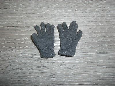 WH graue Handschuhe in 1/6 DID DRAGON