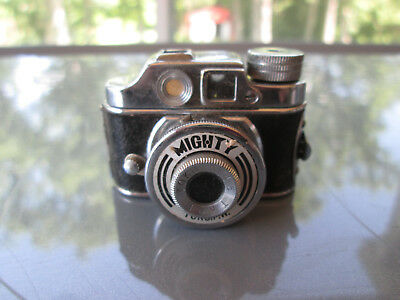 Vintage Sub Minature Spy Camera Toko Mighty With Film Still In It Occupied Japan