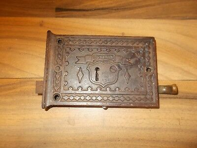 Vintage Antique Russwin Rim lock Door Catch