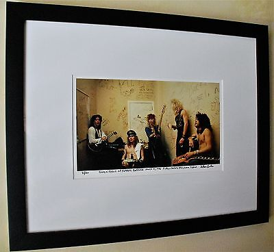 Guns N Roses Slash Axl Rose Rare backstage 5 days before they were signed 59/100